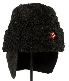 SOVIET ARMY INSULATED WOOL CAP