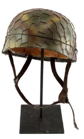 WWII GERMAN FALLSCHIRMJAEGER PARATROOPER HELMET