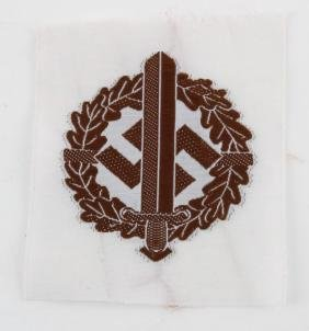 WWII GERMAN SA SPORTS PARTICIPATION PATCH