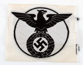 WWII GERMAN 3RD REICH SA SPORTS SHIRT PATCH