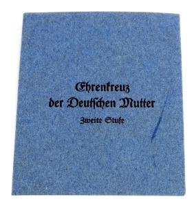 ISSUE ENVELOPE FOR NAZI MOTHERS CROSS  2ND CLASS