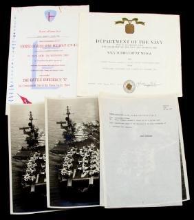 MARINE SGT USS MIDWAY PHOTOS & CITATIONS
