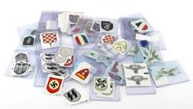 OVER 100 REPRODUCTION WWII GERMAN HELMET DECALS