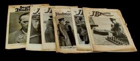 WWII GERMAN MAGAZINES WITH THIRD REICH LEADERS