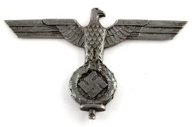 GERMAN WWII NAZI NSDAP FLAG POLE TOP