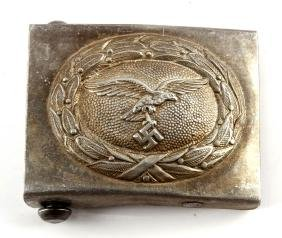 GERMAN WWII NAZI LUFTWAFFE BELT BUCKLE