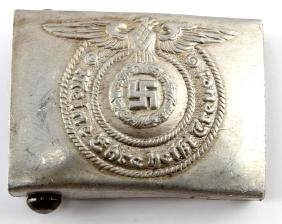 GERMAN WWII NAZI SS BELT BUCKLE