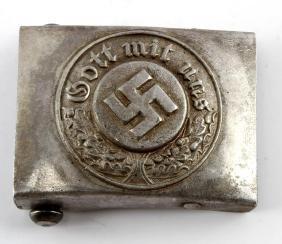 GERMAN WWII NAZI POLICE BELT BUCKLE