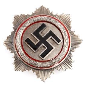 GERMAN WWII THIRD REICH SILVER GERMAN CROSS
