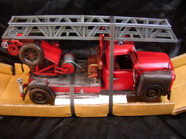 5: OPEL BLITZ FIRE ENGINE LADDER PUMPER REPRO NIB