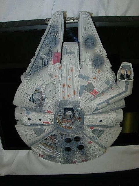 93: STAR WARS MILLENIUM FALCON CODE 3 DIECAST MODEL - 2