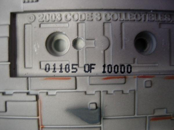 93: STAR WARS MILLENIUM FALCON CODE 3 DIECAST MODEL - 5