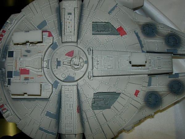 93: STAR WARS MILLENIUM FALCON CODE 3 DIECAST MODEL - 6