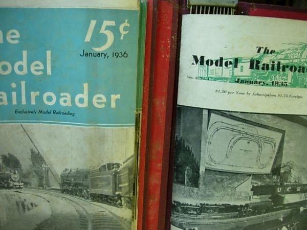 MODEL RAILROADER MAGAZINE JAN 1935 - DEC 1936 LOT 24