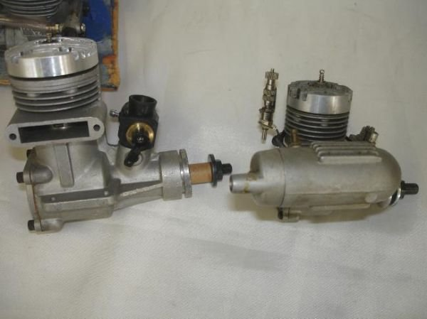 LOT RC GAS AIRPLANE ENGINES MUFFLERS MAGNUM OS MAX K&B - 4