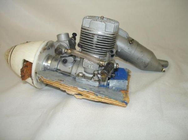 LOT RC GAS AIRPLANE ENGINES MUFFLERS MAGNUM OS MAX K&B - 5