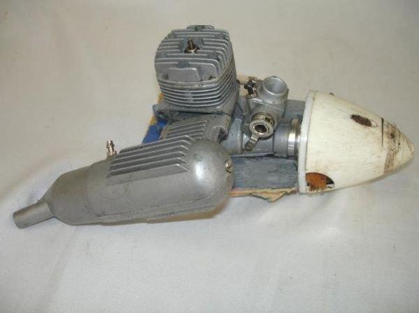 LOT RC GAS AIRPLANE ENGINES MUFFLERS MAGNUM OS MAX K&B - 6