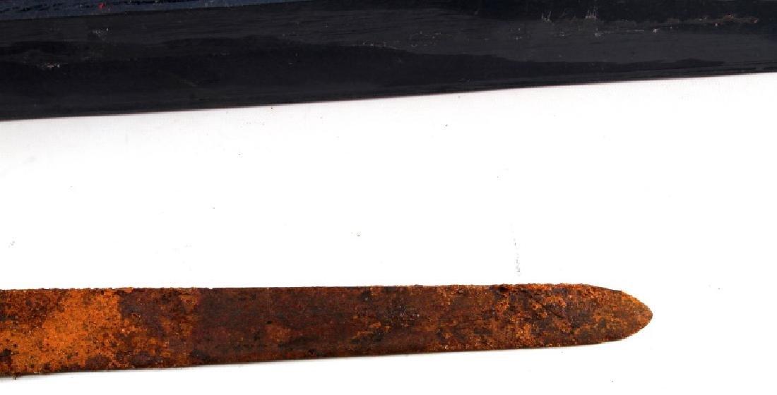 ANTIQUE 5TH CENTURY OAKESHOTT VIKING IRON SWORD - 2