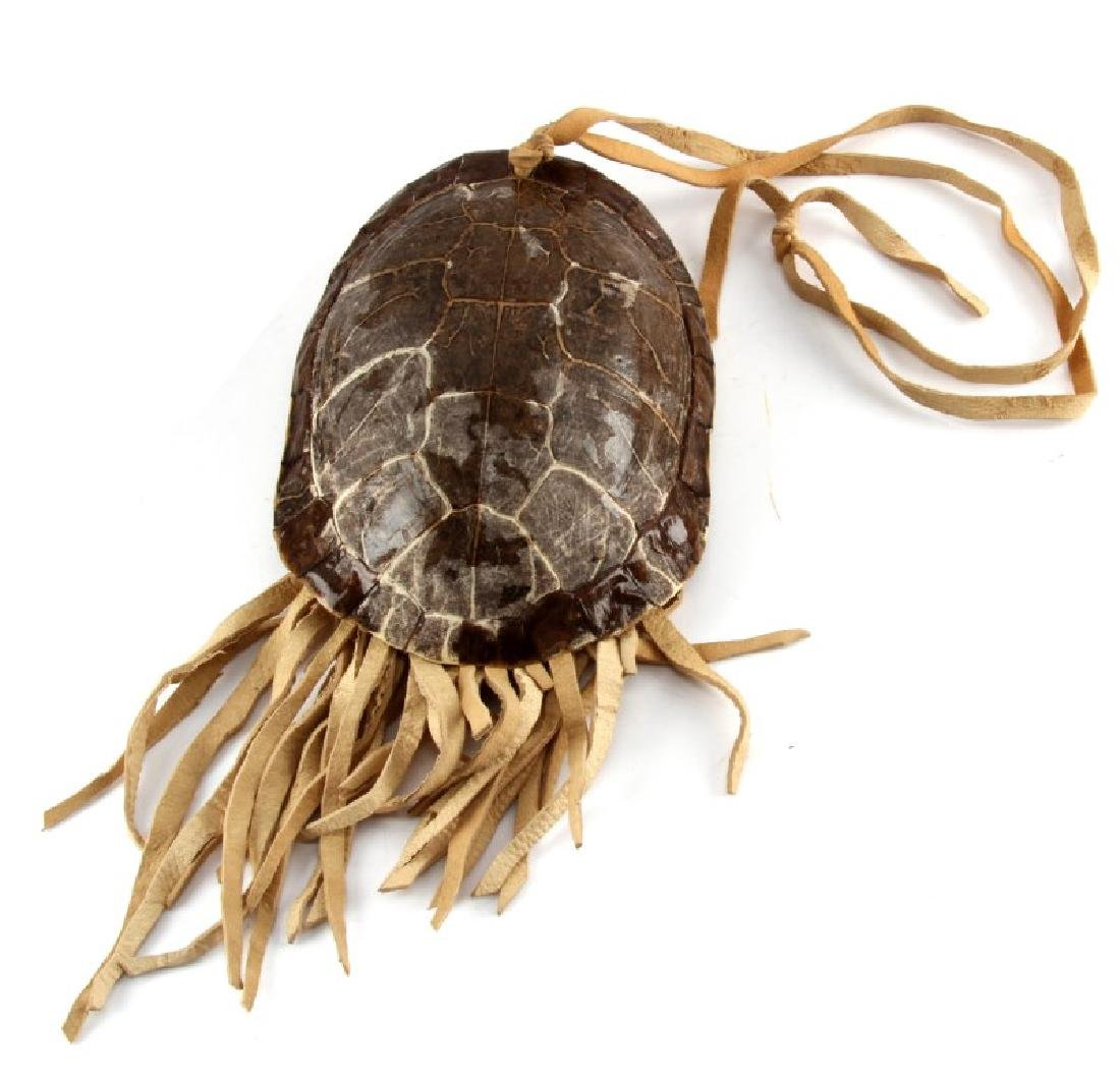 NATIVE AMERICAN FRESH WATER TURLE MEDICINE POUCH