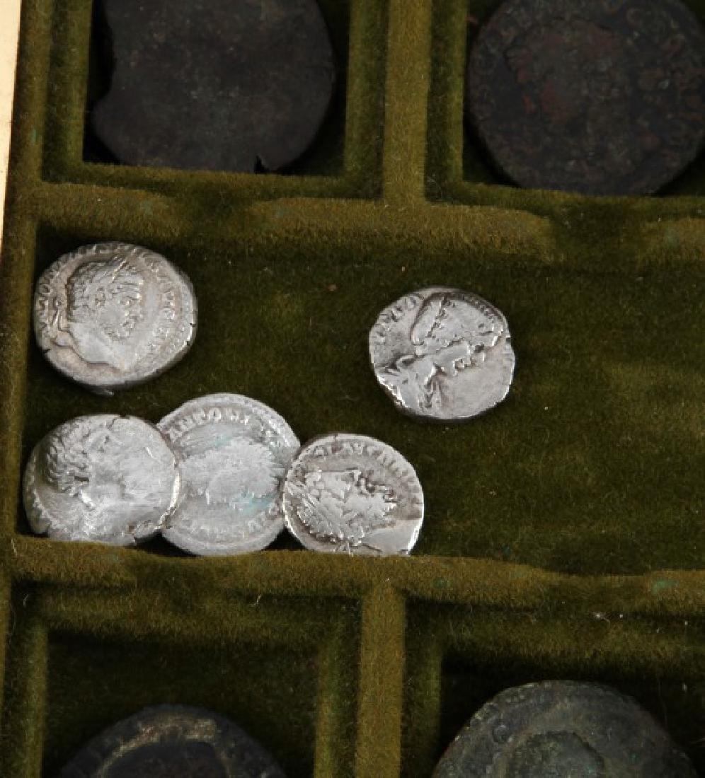 ROMAN COIN COLLECTION 16 SESTERTIUS SILVER DENARI - 2