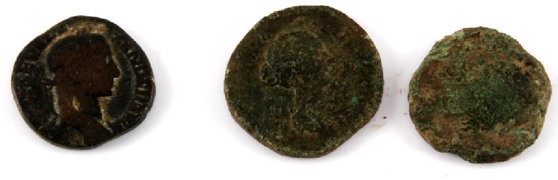 ROMAN COIN COLLECTION 16 SESTERTIUS SILVER DENARI - 3
