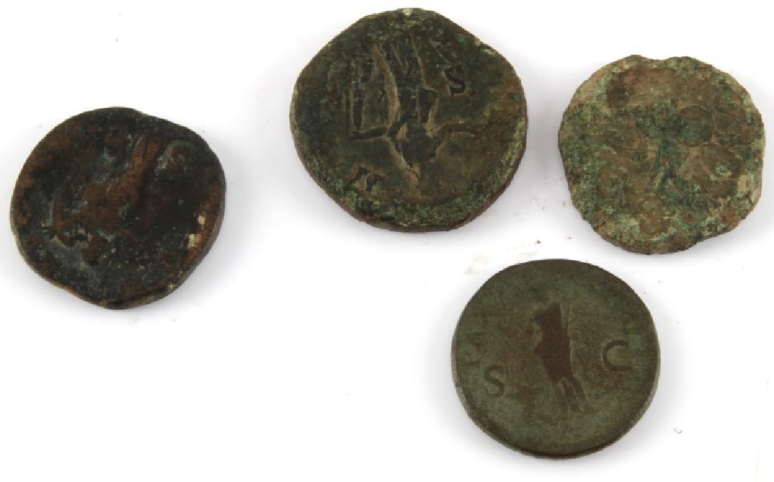 ROMAN COIN COLLECTION 16 SESTERTIUS SILVER DENARI - 4