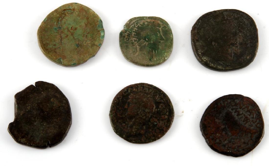 ROMAN COIN COLLECTION 16 SESTERTIUS SILVER DENARI - 5