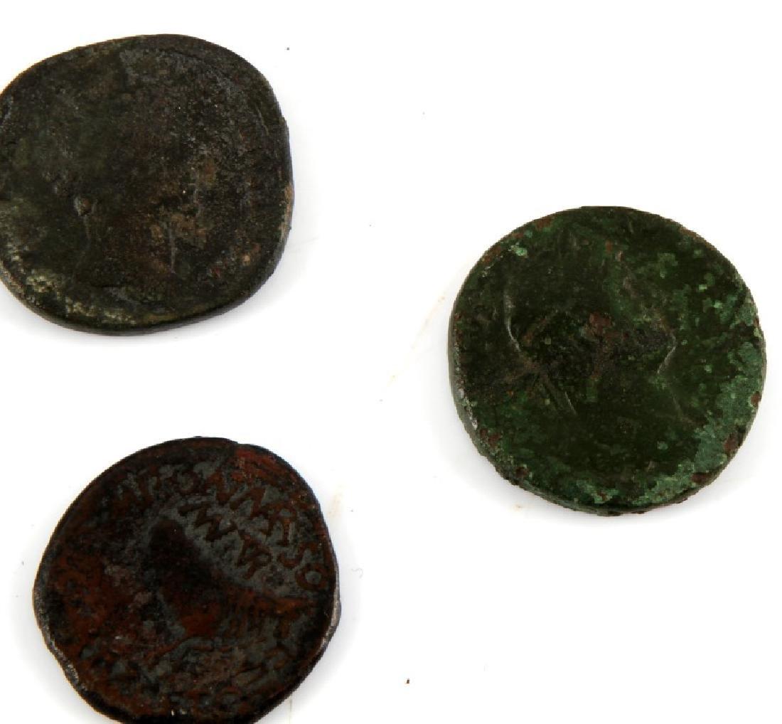 ROMAN COIN COLLECTION 16 SESTERTIUS SILVER DENARI - 6