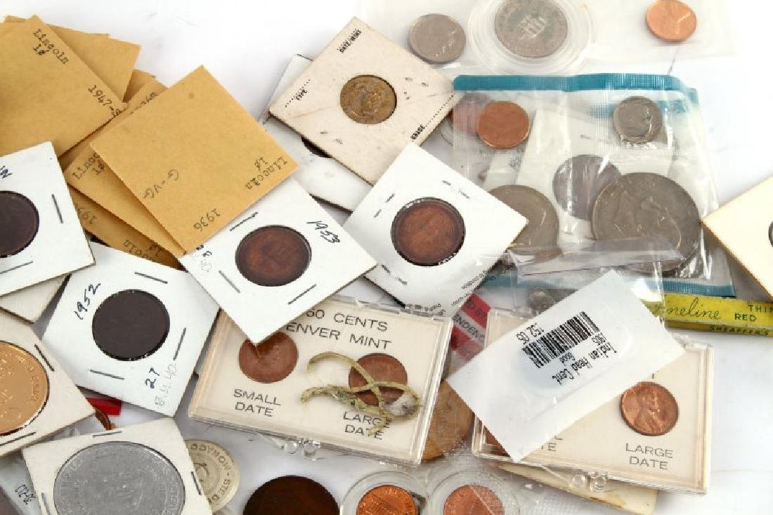 8.2 POUNDS OF WORLD COINS TOKENS & NUMISMATICA - 4