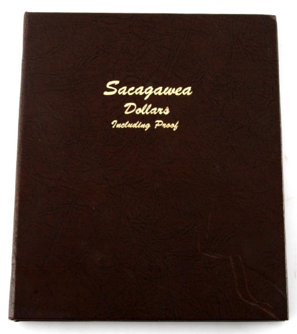 SACAGAWEA DOLLARS COLLECTION ALBUM WITH PROOF