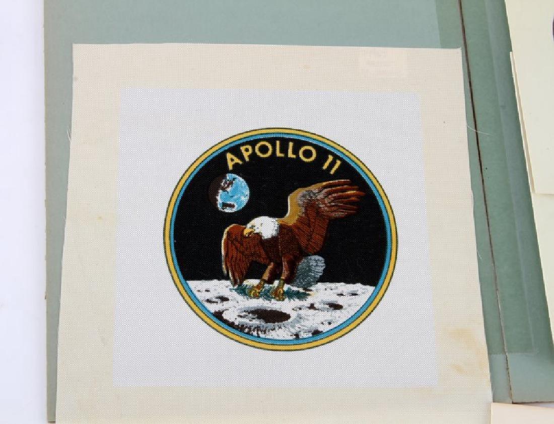 1969 APOLLO II SIGNED PRESIDENTIAL EPHEMERA LOT