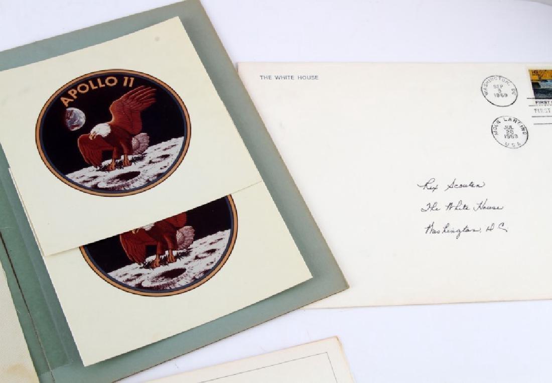 1969 APOLLO II SIGNED PRESIDENTIAL EPHEMERA LOT - 2