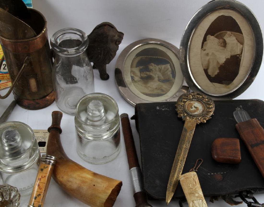 LOT OF GENERAL ANTIQUES AND COLLECTABLES - 3