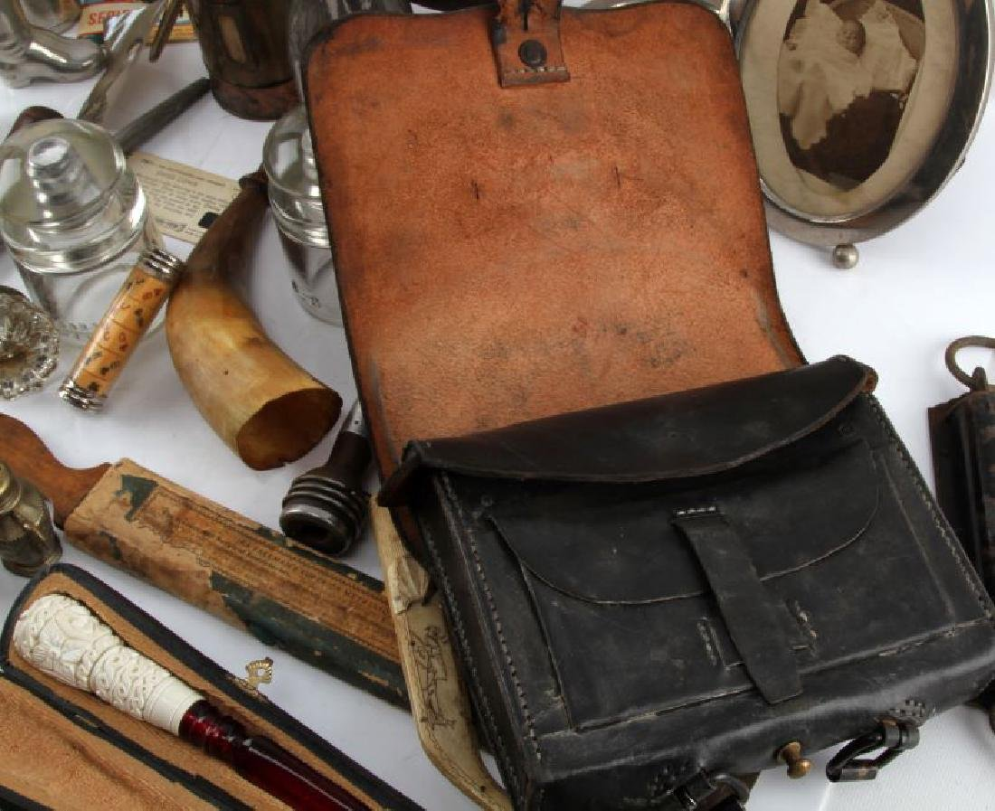 LOT OF GENERAL ANTIQUES AND COLLECTABLES - 7