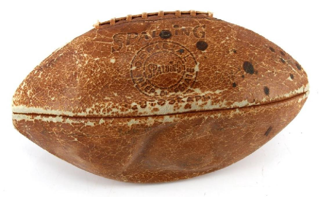 1961 ARMY NAVY GAME AUTOGRAPH SPALDING FOOTBALL - 3