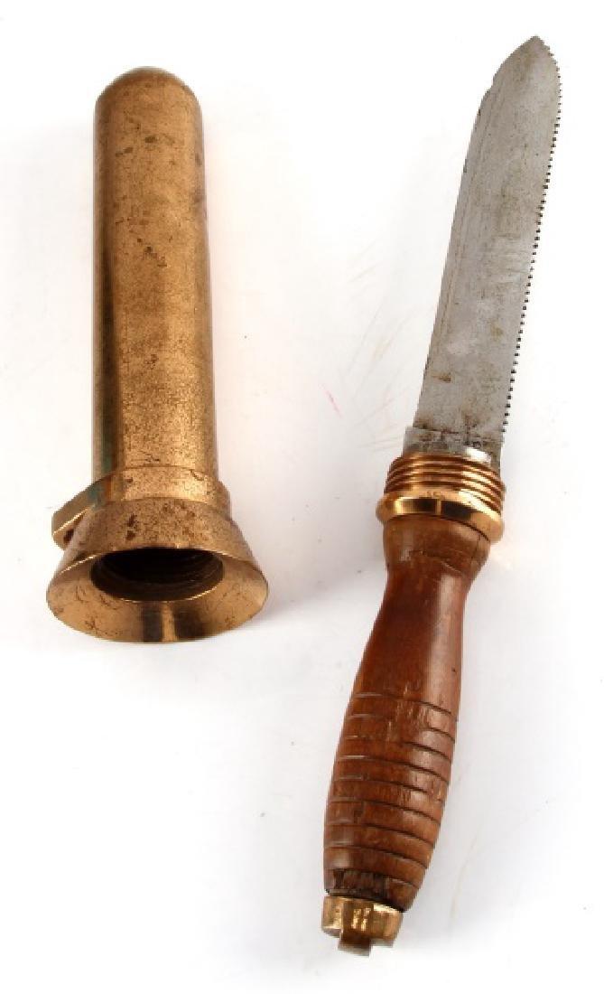 WWII MK 5 KA-BAR HARD HAT DIVER KNIFE OLEAN N.Y. - 3