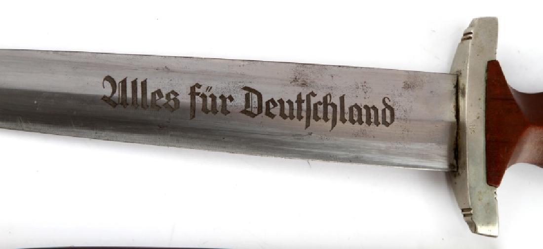 WWII THIRD REICH GERMAN SPITZER SA DAGGER W HANGER - 4