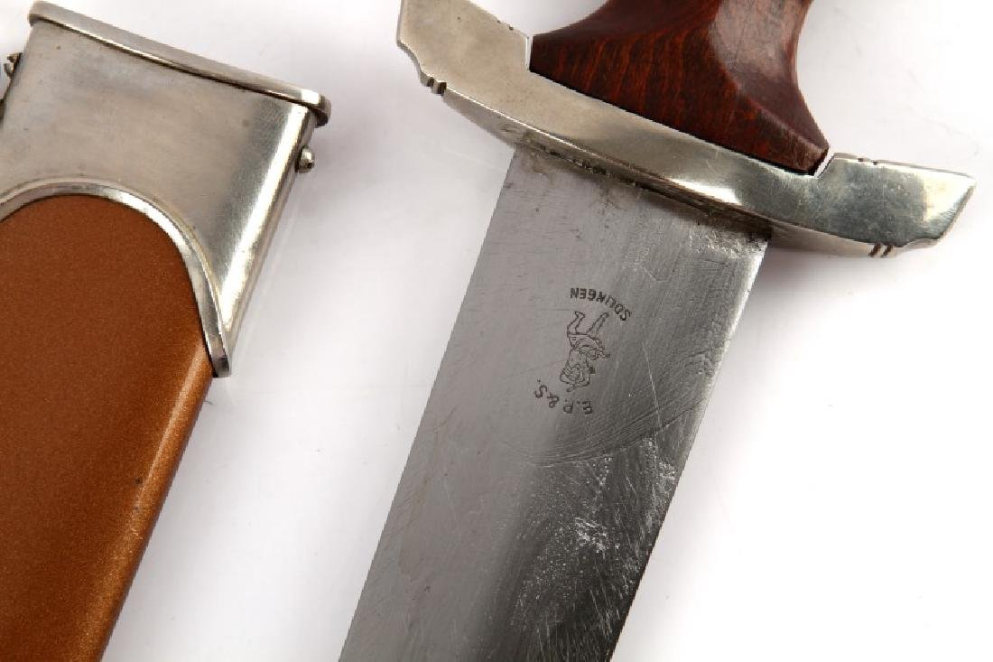 WWII THIRD REICH GERMAN EARLY SA DAGGER EP&S - 5