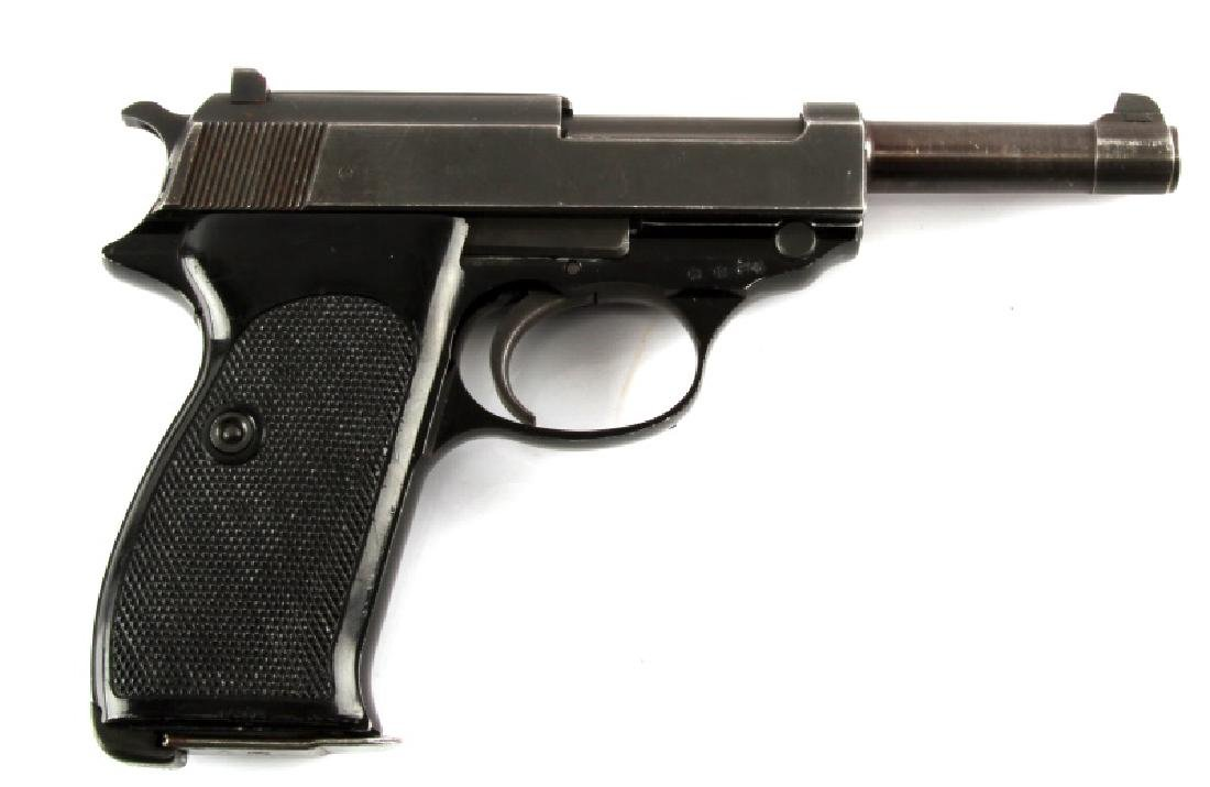 POST WAR GERMAN WALTHER P38 SEMI AUTO PISTOL 9MM