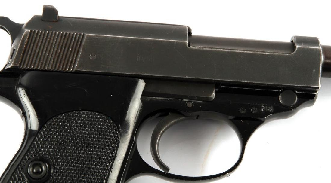 POST WAR GERMAN WALTHER P38 SEMI AUTO PISTOL 9MM - 2