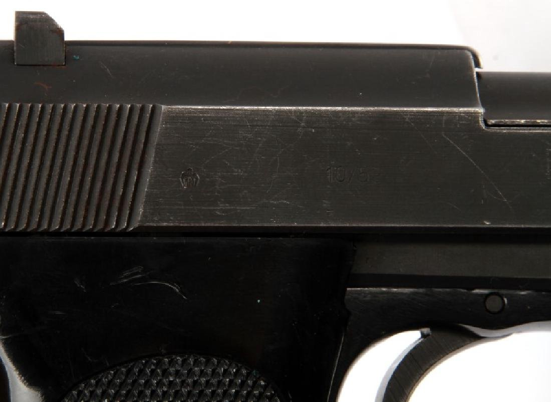 POST WAR GERMAN WALTHER P38 SEMI AUTO PISTOL 9MM - 6