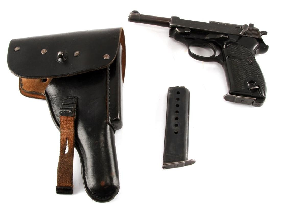 POST WAR GERMAN WALTHER P38 SEMI AUTO PISTOL 9MM - 8