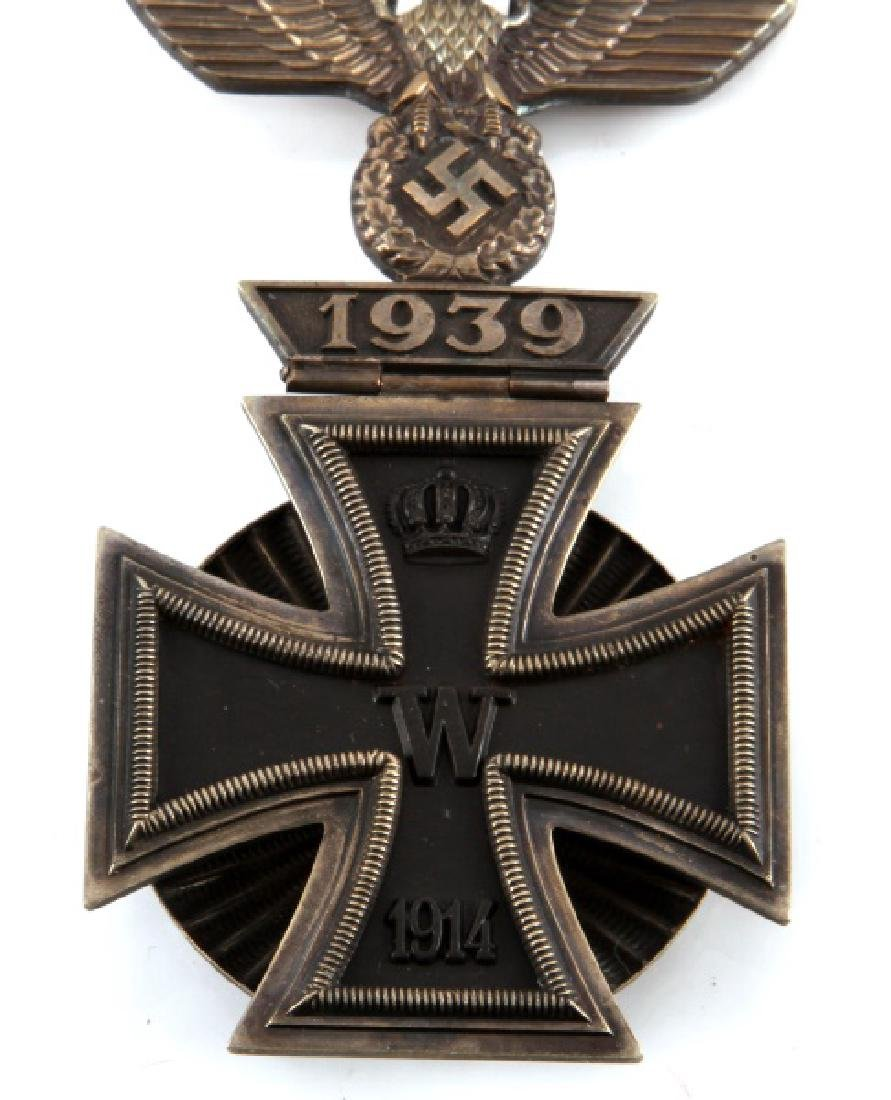 GERMAN IRON CROSS MEDAL 1914 + HINGED REICHSADLER - 2