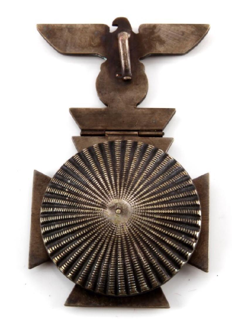 GERMAN IRON CROSS MEDAL 1914 + HINGED REICHSADLER - 3
