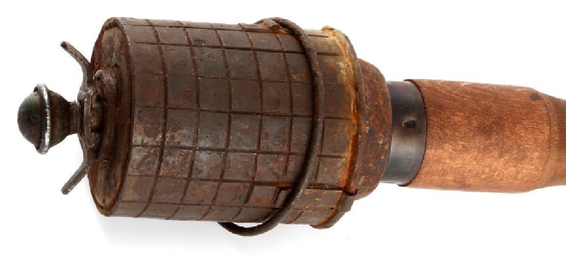 WWII GERMAN 3RD REICH M43 TOP FUSE STICK GRENADE - 2