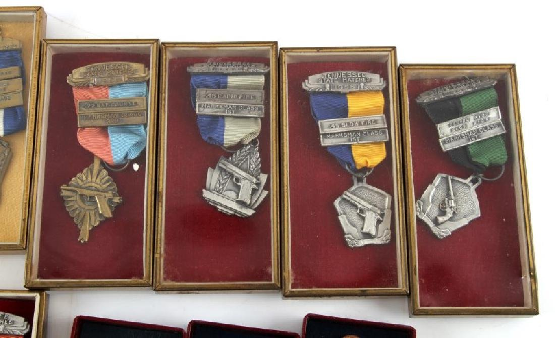 MILITARY AND MRRA MID 1950S MARKSMAN MEDALS - 3