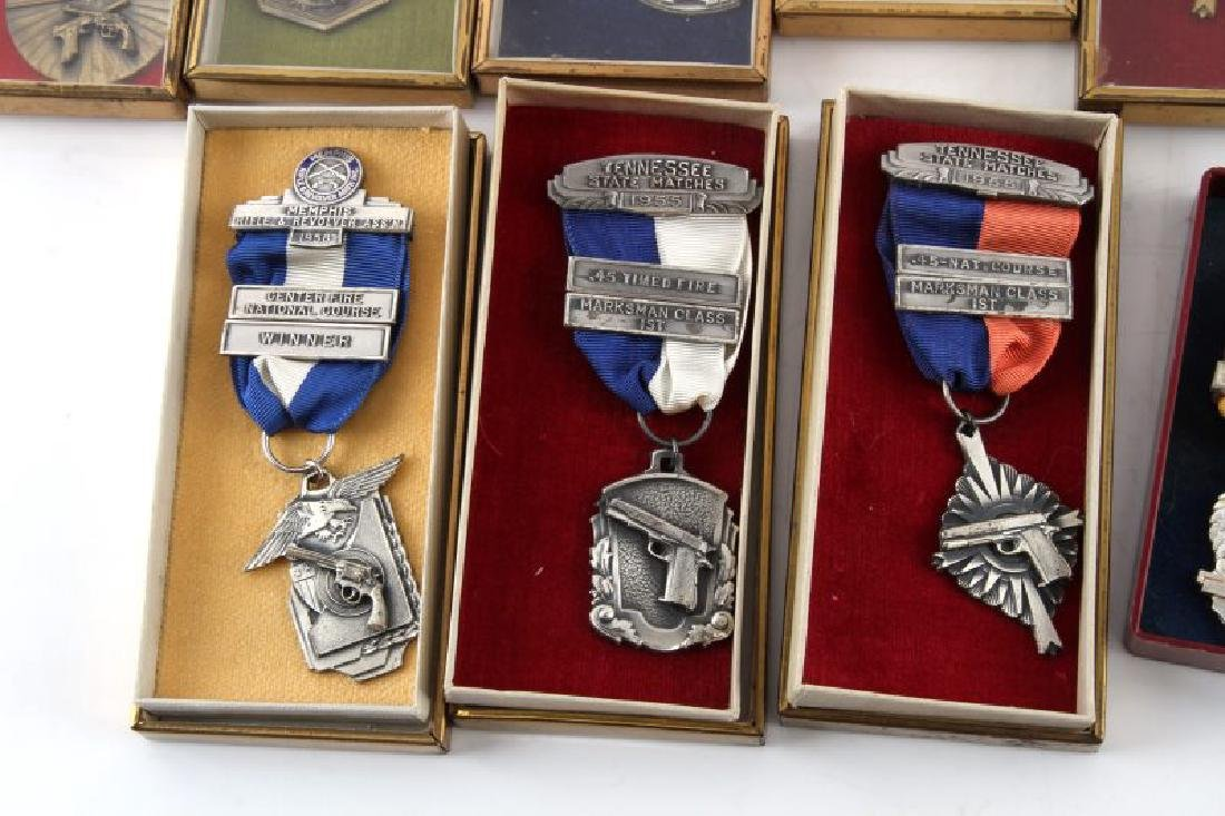 MILITARY AND MRRA MID 1950S MARKSMAN MEDALS - 4