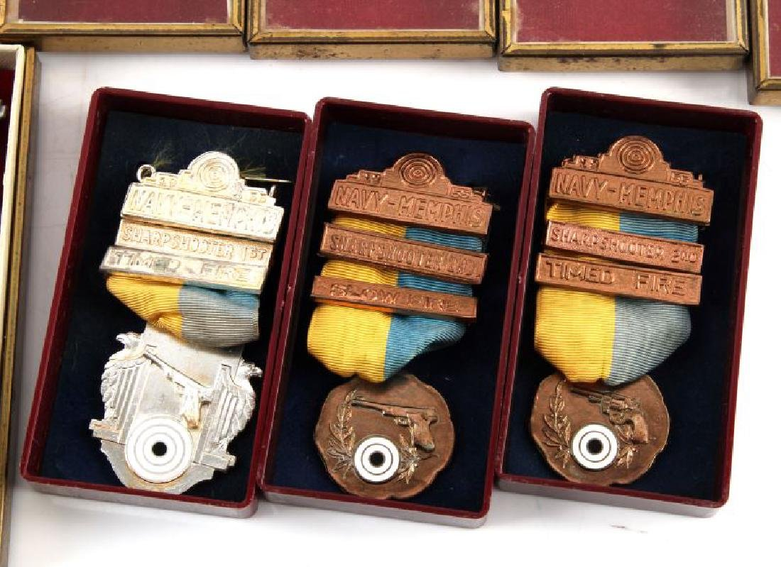 MILITARY AND MRRA MID 1950S MARKSMAN MEDALS - 5