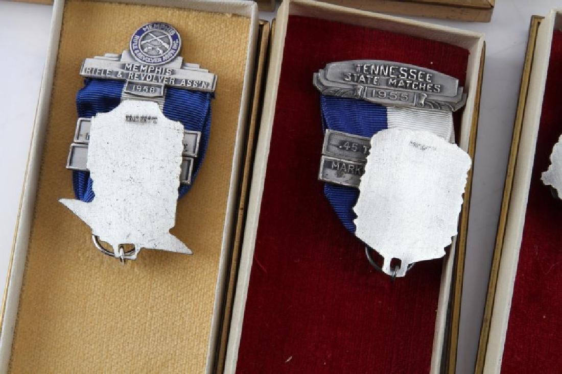 MILITARY AND MRRA MID 1950S MARKSMAN MEDALS - 6