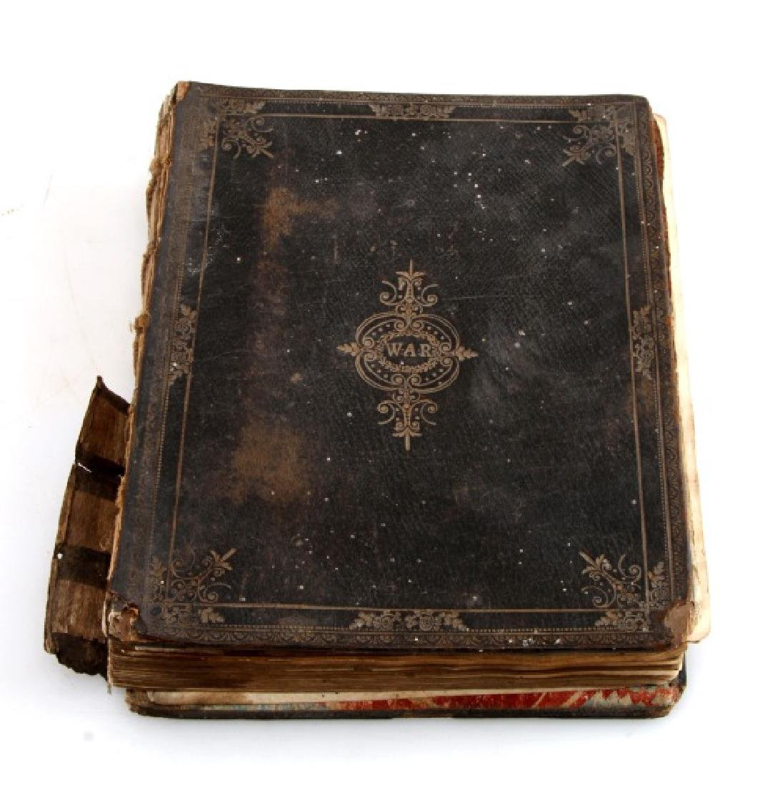 18TH CENT. HANDWRITTEN ILLUSTRATED RELIGIOUS TEXT